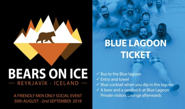 Bears on Ice - Ticket for the Blue Lagoon trip