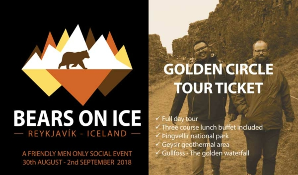 Bears on Ice - Ticket for the Golden Circle trip