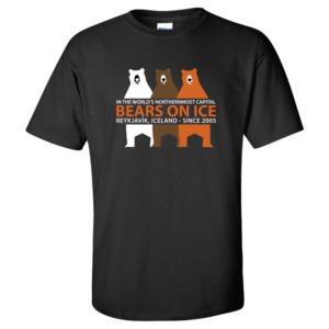 The official t-shirt for Bears on Ice 2018
